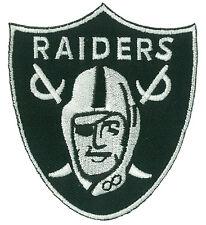 Patche écusson brodé RAIDERS L.A. thermocollant applique ecusson patch football