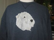 Soft Coated Wheaton Terrier Embroidered Sweatshirt Add Name For Free
