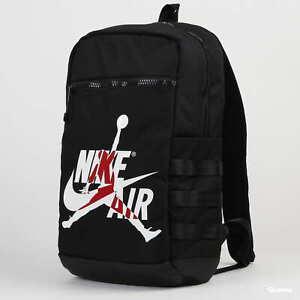 Nike Air Jordan Jumpman Logo Classic Backpack 9A0257-023 Gym Bag Large Laptop
