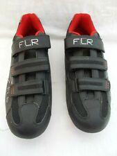 FLR F-35 Road Bike Cycling Shoe in Matt Black - Size 46 / UK 11  3 Bolt  System
