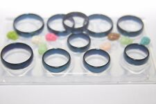 Clear silicone Multi-Ring mold. 10 Pieces. Sizes 5,6,7,8,9,10,11,12,13,14 (Z-31)