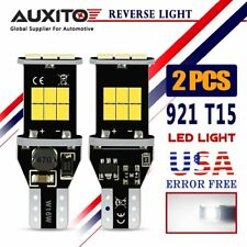 AUXITO 2X T15 Back up Error Free LED Bulb 912 W16W 921 Reverse Light Bulb CANBUS