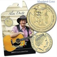 2013 INSPIRATIONAL AUSTRALIANS SLIM DUSTY Coin on Card