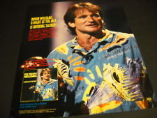 Robin Williams Is Nothing Sacred Night At The Met 1986 Promo Poster Ad mint