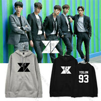 KPOP KNK New Album KNOCK Cap Hoodie Sweater Unisex Jacket Heejun Jihun Coat