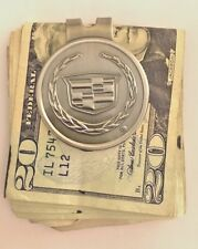 Cadillac Money Clip Authentic (New) (FREE Express SHIPPING Included)