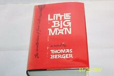 Little Big Man Thomas Berger USA hardcover W/jacket 1964 first Edition 2nd print