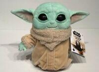 "NEW Star Wars Baby Yoda 8"" Plush Toy Mandalorian The Child by Mattel NWT"