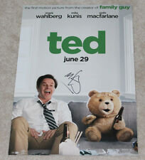 MARK WAHLBERG HAND SIGNED 'TED' 12X18 MINI MOVIE POSTER PHOTO w/COA ACTOR PROOF