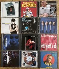 CD Sammlung - 12 Stück - HipHop, Dance, Rap, Rock