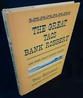THE GREAT TAOS BANK ROBBERY Tony Hillerman HCDJ 1973 1st/1st Excellent Condition
