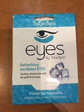 ToGoSpa Eyes Refreshing Ice Water Eyes - 3 Under Eye Treatments