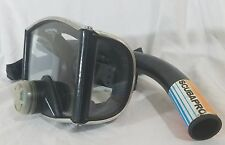 ScubaPro Tempered Glass Wraparound SCUBA/Snorkeling Mask and Snorkel Set Combo