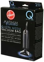 4 Hoover Type Q Vacuum Bags Hepa Media Bags AH10000