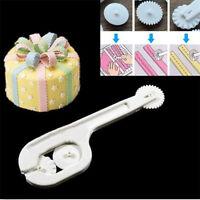 4Pcs Cake Fondant Sugar Craft Paste Embosser Wheel Stitching Cutter DIY Tools