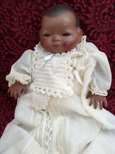 Vintage/Antique Grace S. Putnam African American Bye-Lo Baby Bisque Head Cute