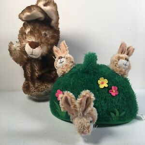 The Puppet Company - Wild Rabbit & Bunny Hill Puppet Buddies Bunny Woodland