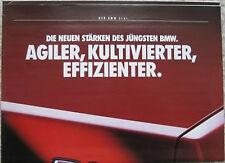 Prospekt BMW 3er E30 1/89 neu: 316i Übergröße DIN A 3