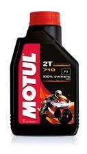 OLIO MOTORE Motul 710 2T 100% Sintetico - 1 litro lt MISCELA SCOOTER MOTO
