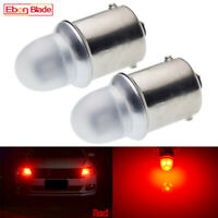 2 X BA15S 1156 P21W 2835 5SMD LED STOP BRAKE SIGNAL INDICATOR BULB GLOBE RED