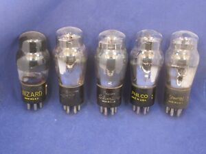 Lot of 5 Type 42 Tubes - Hickok Tested