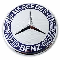 Original Mercedes-Benz Emblem mit Stern Motorhaube Emblem Haubenemblem