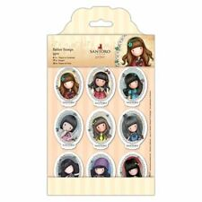 MINI CHARACTER FRAMES-Docrafts Santoro Gorjuss Cling Rubber Stamp-Stamping Craft