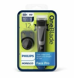 PHILIPS NORELCO ~ Face Pro One Blade Trimmer Shaver (QP6510/70)