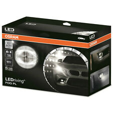 Osram LED Fog Light Silver Edition Car Daytime Running Light DRL Silver Effect