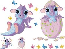 Super Cute Baby Dragons and Butterflies Waterslide Decals # 17