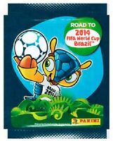 Panini Road To Brazil 2014 Fifa World Cup Sticker Packs NEW & Sealed UK SELLER