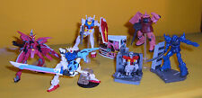 Bandai GUNDAM Sunrise HG Vol 26 Gashapon DIORAMA 6 Figure Set RX 78 AZNABLE ZAKU