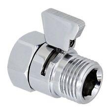 Shower Flow Control Valve Hand Held Sprayer Head Supply Shut Off Stop Switch