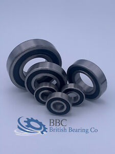 6000-2RS TO 6007-2RS  6000RS TO 6007RS SERIES RUBBER SEALED BEARING