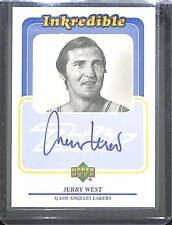 1999-2000 Upper Deck Retro Inkredible Autograph #JW Jerry West