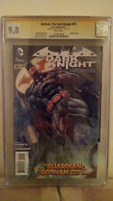 Batman: The Dark Knight #19 (Mad Hatter) CGC 9.8 AUTOGRAPHED by ETHAN VAN SCIVER