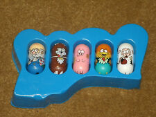 2003 Moose's Mighty Beanz - Series 2 - Complete set of 5 Farm team