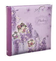 2 X Large Memo Slip In Photo Album for Hold 200 '6 x 4' Photos- Choose Design