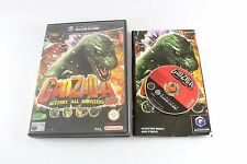 NINTENDO GAMECUBE GODZILLA distruggere tutti i mostri Game UK PAL COMPLETO
