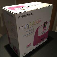 Memorex Mi3X-PNK MiniMove Portable Boombox for iPod with FM & Wireless Remote
