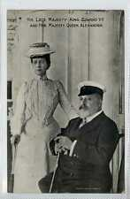 (Lb9053-450) H.M. King Edward VII and H.M. Queen Alexandra ,  c1910 Unused