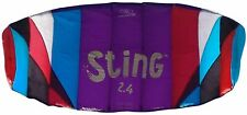 Flexifoil Sting 2.4 kite - complete with bag, lines, handles, safeties