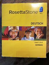 Rosetta Stone German (Deutsch) Level 1, 2 & 3: Version 3