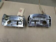 1955 ford sedan delivery station wagon nos rear license plate mounting bezel B5A