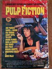 Original Movie Poster for the movie, Pulp Fiction