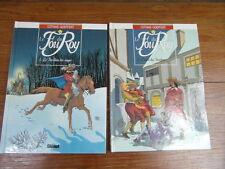 COTHIAS GOEPFERT LE FOU DU ROY Volumes 1 et 2 GLENAT 1995 TBE