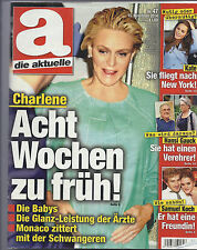 die aktuelle Nr.47 Nov. 2014 Charlene, Kate, Samuel Koch,Hans Gauck, Caroline v.
