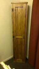 # Handmade Bespoke Pine tall narrow broom cupboard / bookshelf FREE DELIVERY*