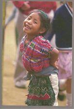 NINI MAYA - CAK'CHIQUEL, GUATEMALA  POSTCARD #Z-777F