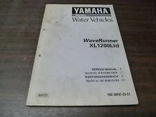 MANUEL REVUE TECHNIQUE ATELIER YAMAHA XL 1200 LTD WAVERUNNER 1999 SERVICE MANUAL